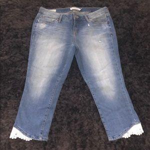 Torrid Skinny Capris - 16